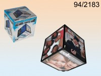 Rotating picture cube for 6 photos 11 x 11 cm, ...
