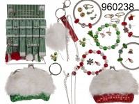 Jewelry Accesories, Christmas, 25 ass., 176 pcs ...