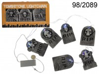 Light chain, Tombstone, with 6 LED (incl. ...